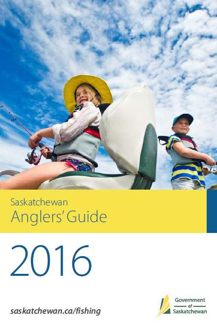 sask anglers guide 2016