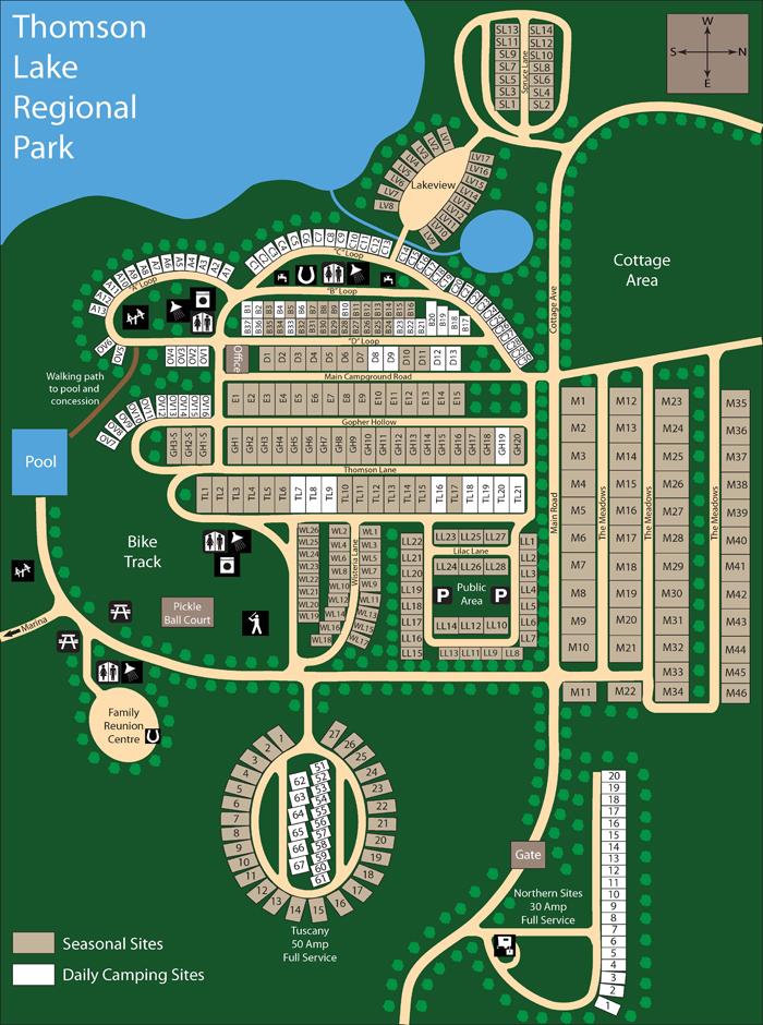 Thomson Lake Saskatchewan Regional Parks