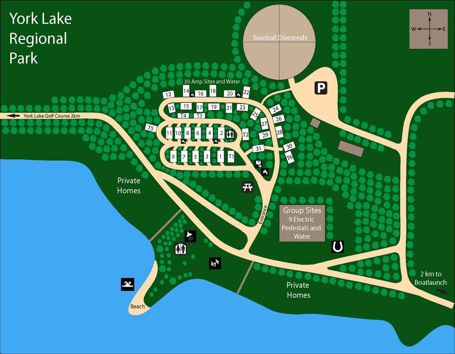 york-lake